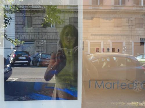 Berit Mücke Martedi Critici Roma Luglio 2011 Malerei