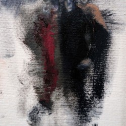 Amici 20 x15 Öl Tempera Leinen Pappe 2011