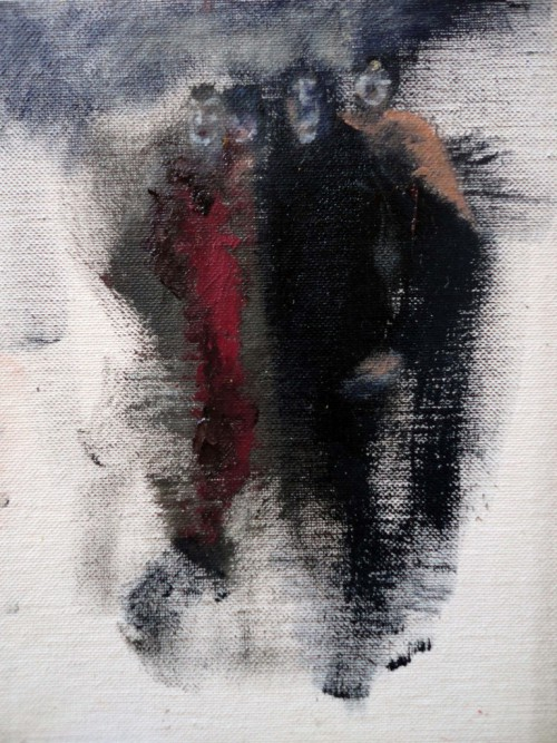 Rom Amici 20×15 Öl Eitempera Leinwand 2011