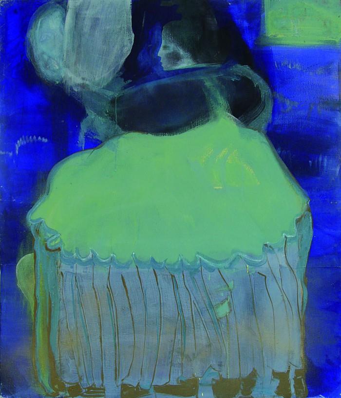 Berit Mücke Blaue Marie