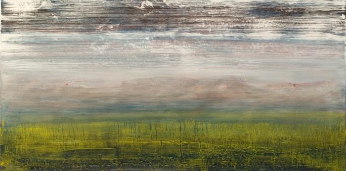 Landschaft Ort Malerei Berit Mücke